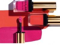 2 in1: der Lippenstift und der Blush Kiss&Blush von Yves Saint Laurent.