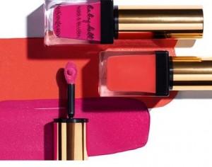 2 in1: der Lippenstift und der Blush Kiss&Blush von Yves Saint Laurent