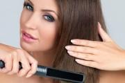 Wie sollte man die Haare richtig glätten?