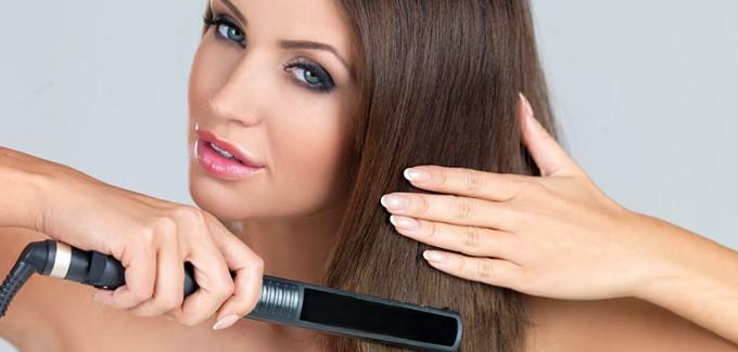 Wie sollte man die Haare richtig glätten