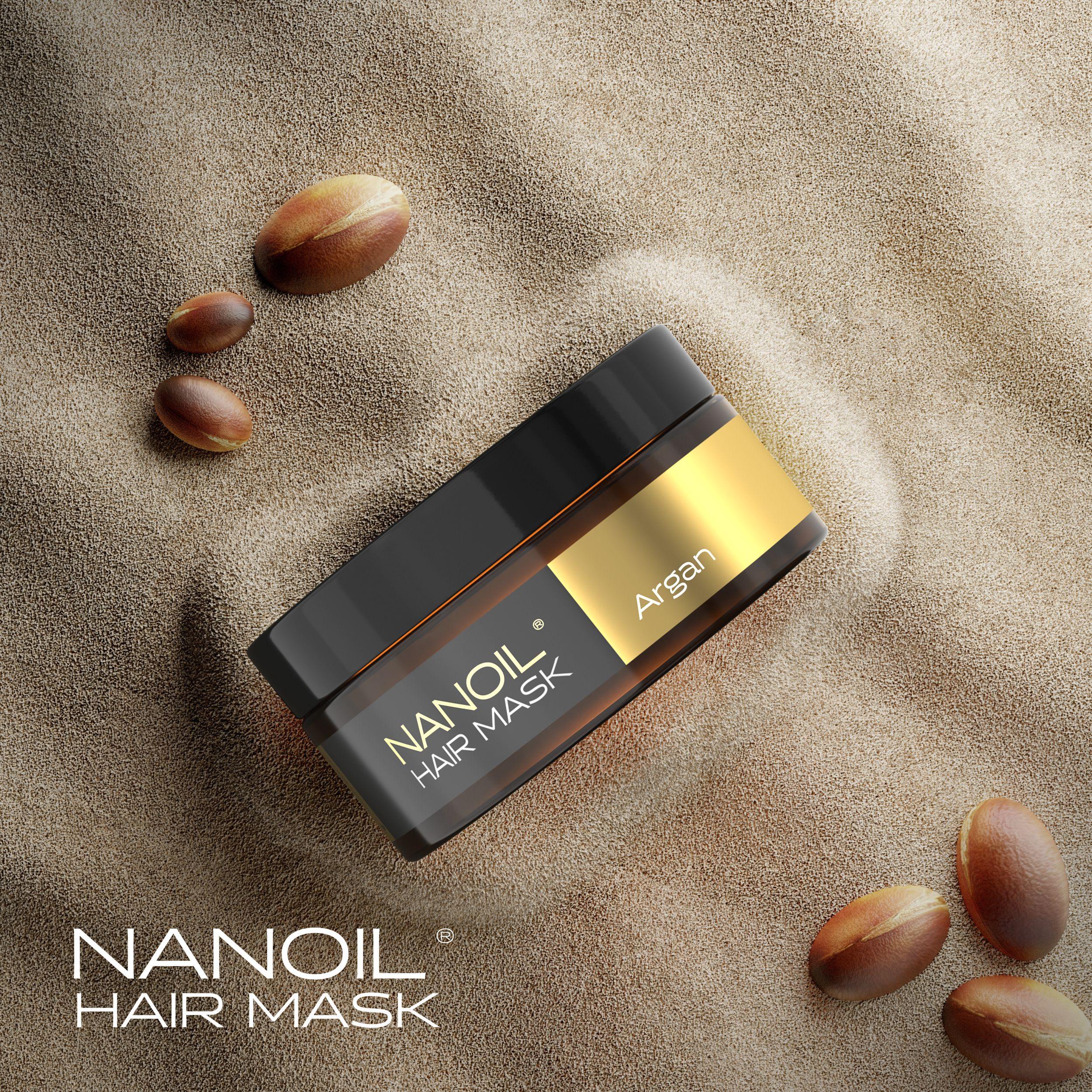 Nanoil Arganöl Haarmaske
